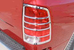 Ford F-450 Pilot Chrome Tail Light Covers