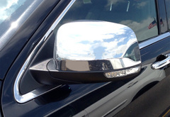Ford F-450 Pilot Chrome Mirror Covers