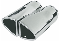Chevrolet Celebrity Flowmaster Split Oval Exhaust Tip