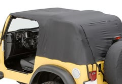 Jeep Wrangler Pavement Ends Emergency Top Soft Top