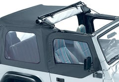 Jeep Wrangler Pavement Ends Flip Top Soft Top