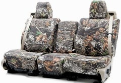 Mitsubishi Raider Coverking Mossy Oak Camo Seat Covers