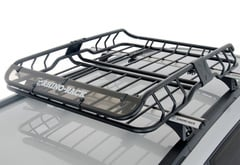 Scion xB Rhino-Rack Roof Mount Cargo Basket