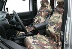 Volvo 780 Aries Seat Defender Camo Canvas Seat Cover