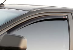 Dodge Ram 2500 EGR In-Channel Matte Black Deflectors