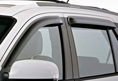 Dodge Ram 2500 EGR SlimLine Matte Black Window Deflectors