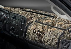 BMW 7-Series Coverking RealTree Camo Dashboard Velour Cover