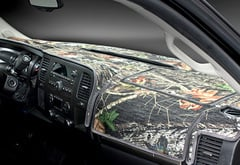 Infiniti G35 Coverking Mossy Oak Camo Velour Dashboard Cover