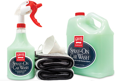 Griot's Garage Complete Spray-On Waterless Car Wash Kit