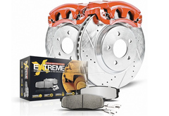 Chevrolet Silverado Power Stop Z36 Truck & Tow Brake Kit with Calipers