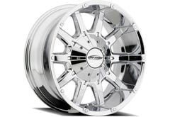 Chevrolet S10 Blazer Pro Comp 10 Gauge 6050 Series Alloy Wheels