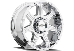 Ford F450 Pro Comp District 6051 Series Alloy Wheels