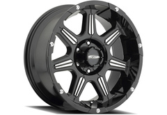 Chevrolet S10 Blazer Pro Comp District 8151 Series Alloy Wheels