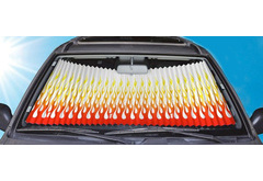 Honda Fit Dash Designs Graphic Sun Shade