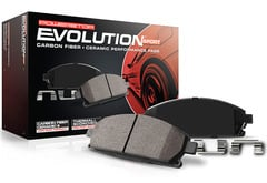 Hummer H3 Power Stop Z23 Evolution Sport Brake Pads