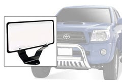 Mitsubishi Raider Steelcraft Bull Bar License Plate Relocation Kit