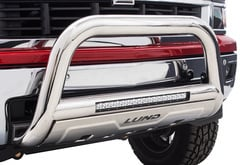 Ford F350 Lund Bull Bar with LED Light Bar