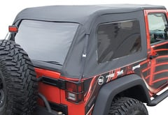 Jeep Wrangler Rampage Frameless Trail Soft Top