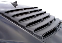 GMC Sierra Willpak Rear Window Louvers