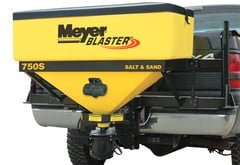 Tesla Model S Meyer Blaster Tailgate Spreader