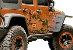 Rugged Ridge Hurricane Fender Flare Kit