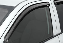 Toyota Tundra Stampede Carbon Fiber Sidewind Deflectors