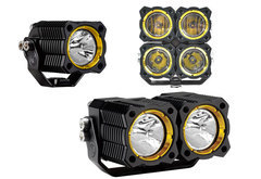 Mercedes-Benz E420 KC Hilites Flex LED Lights