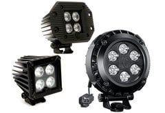 Mitsubishi Raider KC Hilites LZR LED Lights