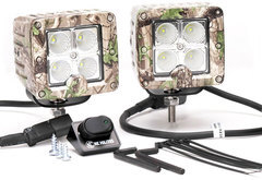 Mitsubishi Raider KC Hilites C-Series Tree Camo LED Lights