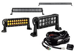 Mitsubishi Raider KC Hilites C-Series LED Light Bar