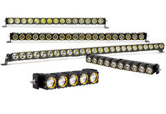 GMC Sonoma KC Hilites Flex LED Light Bar