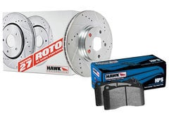 Chevrolet Equinox Hawk HPS Sector 27 Brake Kit