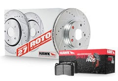 BMW 750i Hawk HPS 5.0 Sector 27 Brake Kit