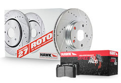 Volkswagen Tiguan Hawk HPS 5.0 Sector 27 Brake Kit
