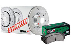 Chevrolet Equinox Hawk LTS Sector 27 Brake Kit