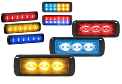 Jeep CJ6 Federal Signal MicroPulse Ultra Warning Lights
