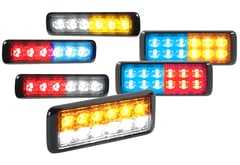 Chevrolet Suburban Federal Signal MicroPulse Ultra Dual Color Warning Light