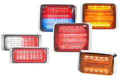 Jeep CJ6 Federal Signal QuadraFlare Exterior Warning Light
