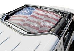 Jeep Wrangler Rugged Ridge Hardtop Overhead Sun Shade