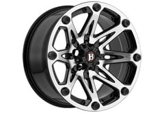 Ford F150 Ballistic 814 Jester Series Wheels