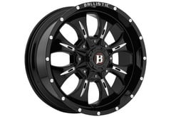 Ford F150 Ballistic 951 Dagger Series Wheels