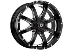Ford F150 Ballistic 955 Anvil Series Wheels