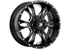 Ford F150 Ballistic 957 Mace Series Wheels