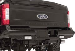 Toyota Tundra Fab Fours Black Steel Rear Bumper