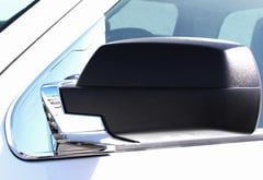 Carrichs Chrome Mirror Base Covers