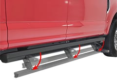 Toyota Tundra Aries ActionTrac Powered Running Boards