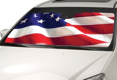 Hyundai Elantra Intro-Tech American Flag Sun Shade