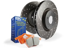 Dodge Ram 1500 EBC Sport Rotor Brake Kit