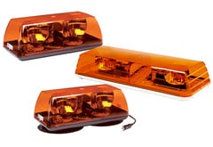 ECCO Amber Rotating Mini Light Bar
