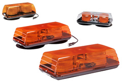 ECCO Amber Strobe Mini Light Bar